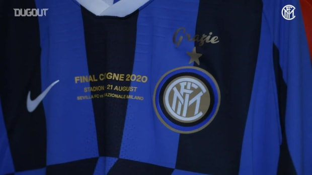Behind the Scenes: Inter prepare Europa League final shirts
