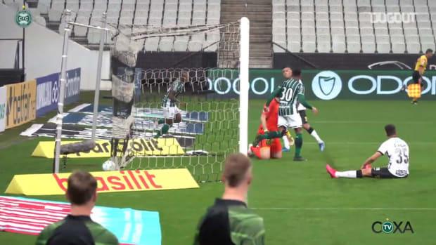 Sassá's goal against Corinthians