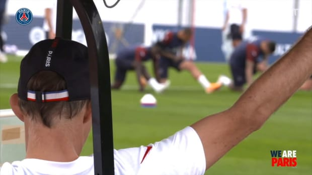 PSG continue their preparation before their first Champions League final