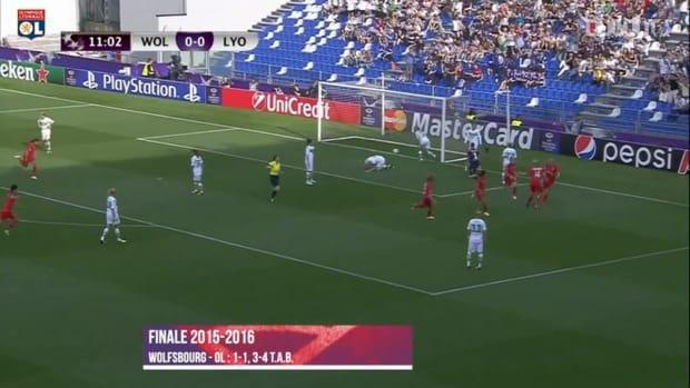 Olympique Lyonnais Women won two European titles vs Wolfsburg