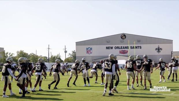 Saints Training Camp - Aug 21st