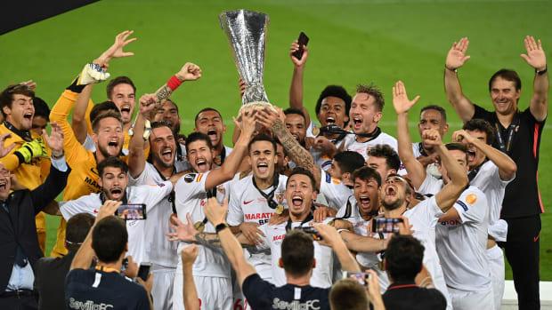 Sevilla wins the Europa League title