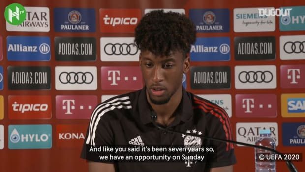 Kingsley Coman: Everyone is prepared to give everything to make this Champions League perfect