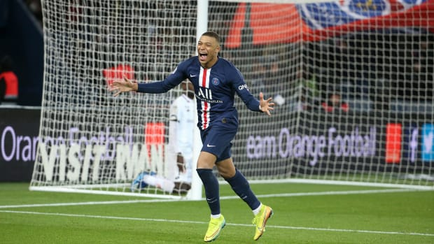 Kylian Mbappe leads PSG to the Champions League final