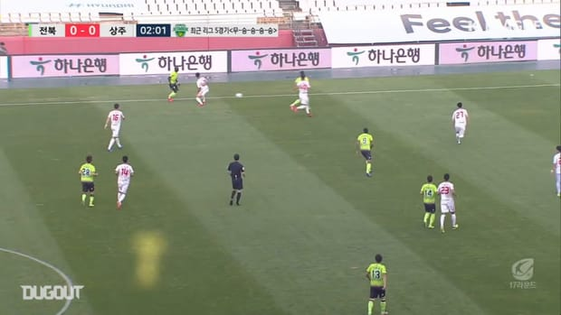 Jeonbuk 2-1 Sangju Sangmu: Gustavo answers with later winner
