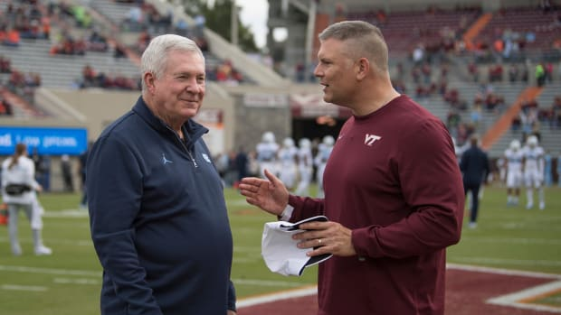 Mack Brown and Fuente