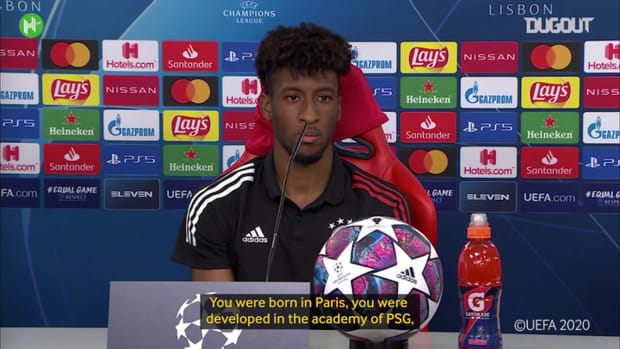 Mixed emotions for Champions League winner Kingsley Coman
