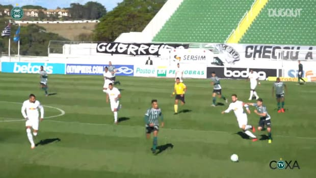 Coritiba's first win in the 2020 Brazilian Championship
