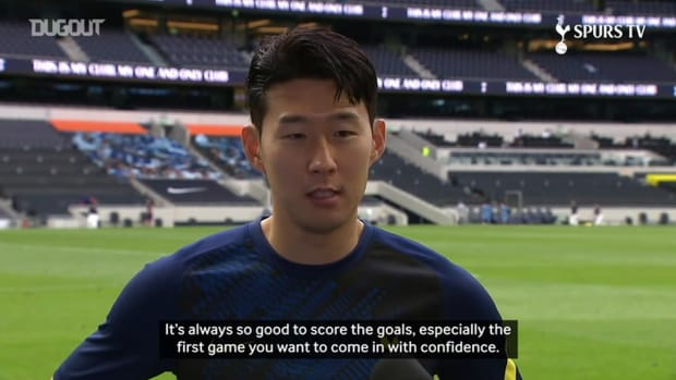 Heung-Min Son: I want to be better than last season