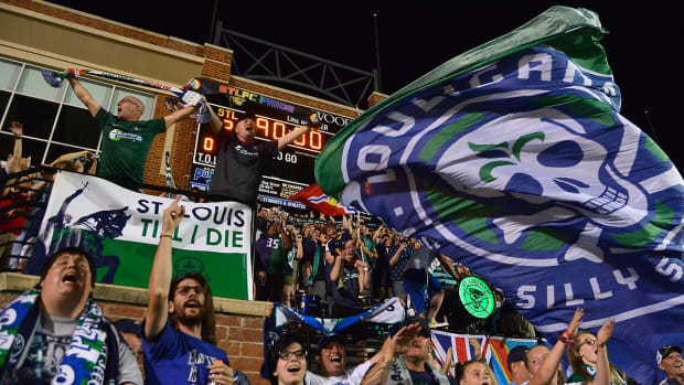 USL's Saint Louis FC will fold to make room for MLS expansion club St. Louis City.