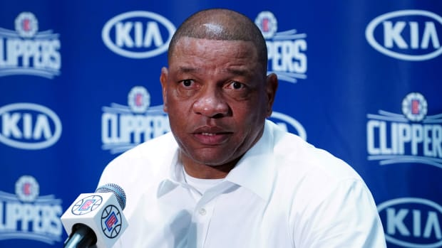 Doc Rivers tearing up