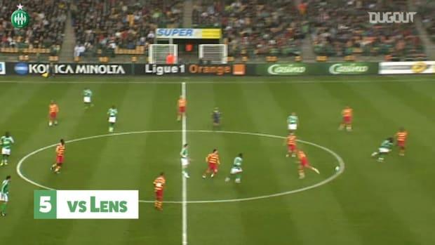 Gomis' top 5 goals at Saint-Étienne