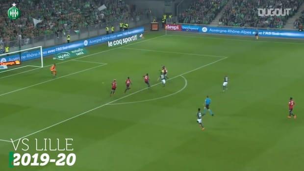Hamouma's best goals at Saint-Étienne