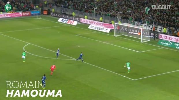 Saint-Étienne top five goals vs Olympique Lyonnais