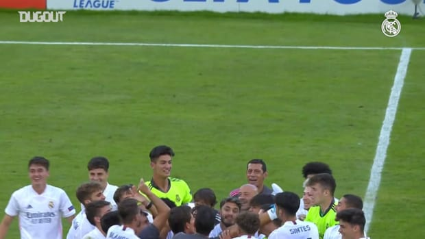 Real Madrid win their first ever UEFA Youth League title