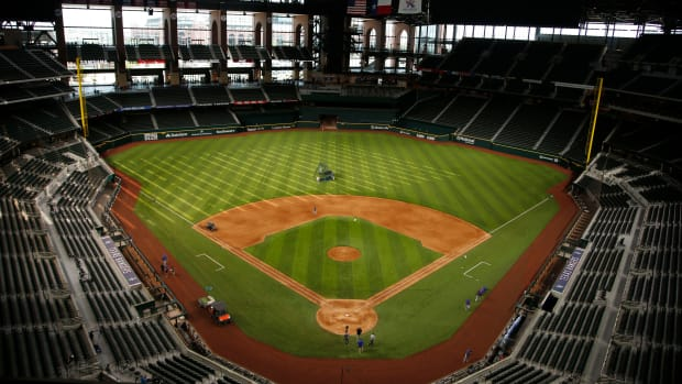 Controlled sites, such as Globe Life Field, are being discussed with the MLBPA to hold postseason MLB games.