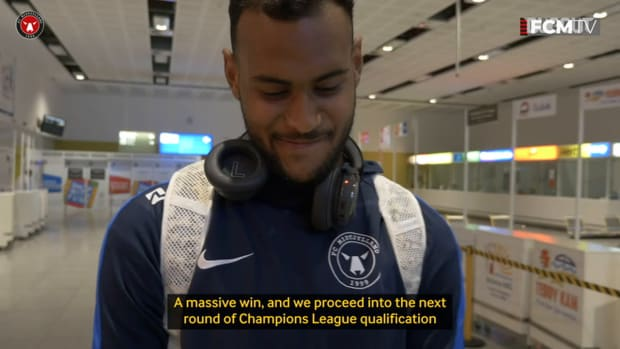 Júnior Brumado reflects on crucial Champions League qualification winner