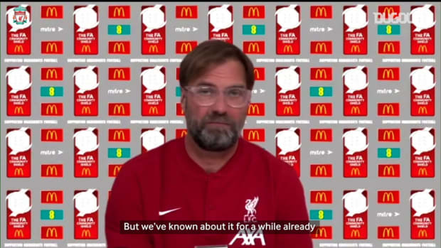 Klopp previews Community Shield clash against Arsenal