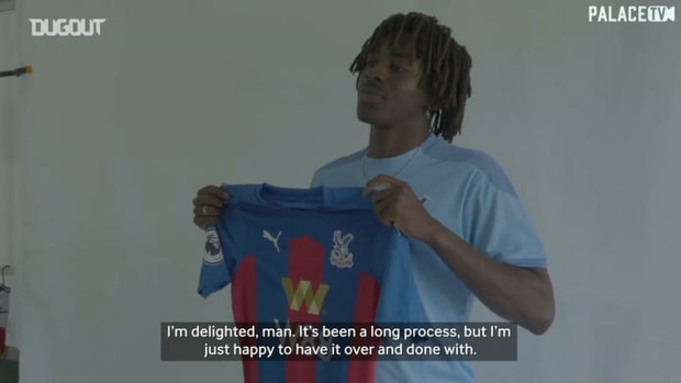 Eberechi Eze's first Crystal Palace interview after QPR switch