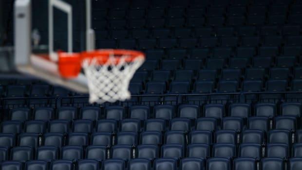 NCAA Basketball Hoop