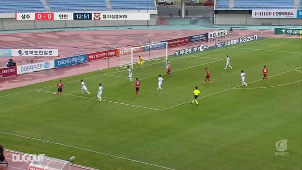 Sangju 3-1 Incheon: Moon Seon-min sparkles in win