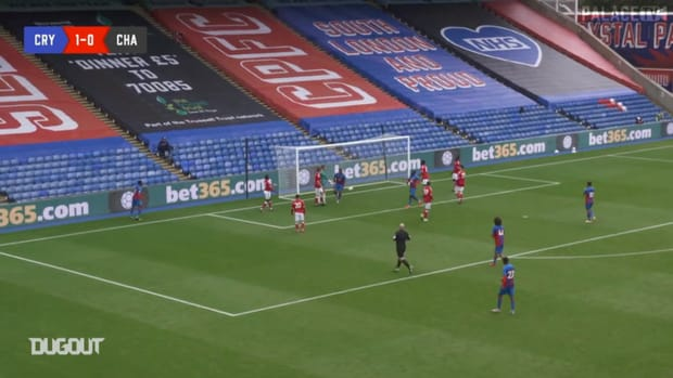 Jordan Ayew shines during pre-season friendly vs Charlton