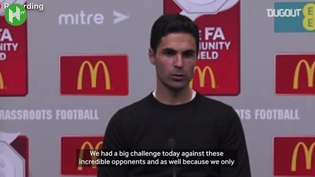 Arteta: 'It's great to get another trophy under our belts'