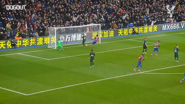 Patrick van Aanholt's best goals for Crystal Palace