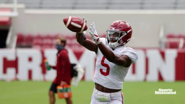 Alabama football players stepping up during 2020 fall camp