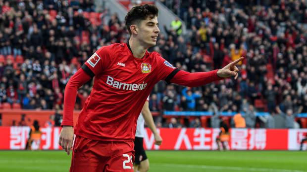 Kai Havertz leaves Bayer Leverkusen for Chelsea