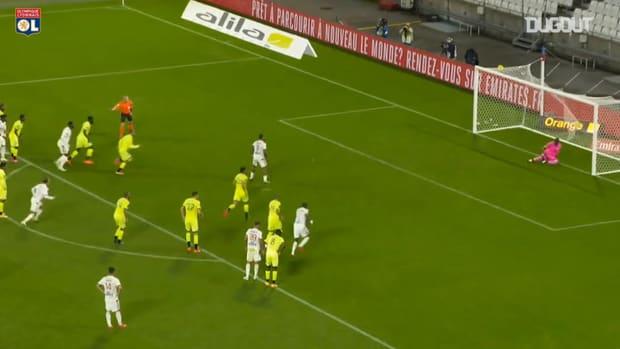 Memphis Depay scored a hat-trick vs Dijon