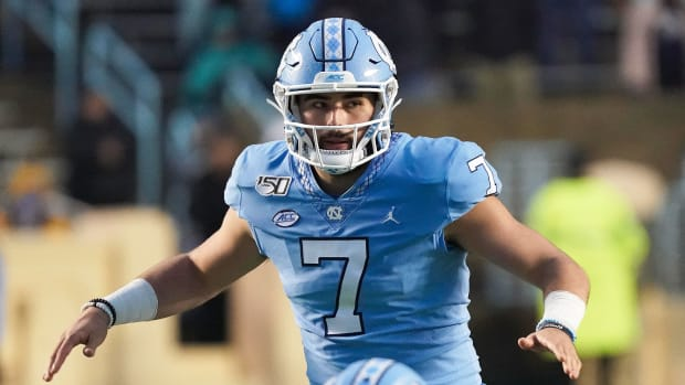 UNC QB Sam Howell