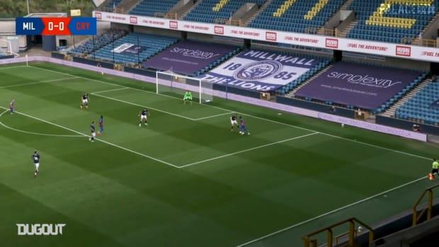 Meyer profits from Zaha trickery to score vs Millwall