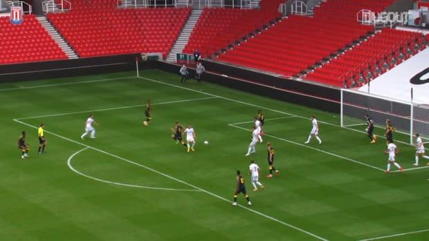Stoke enjoy 3-0 win against Premier League new boy Leeds
