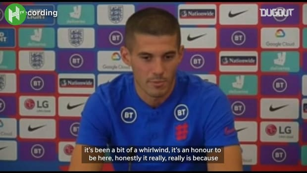 Conor Coady explains the story of how he was called up to the England squad