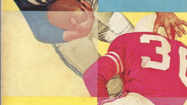 Houston at Alabama, game program cover, Oct. 13, 1962