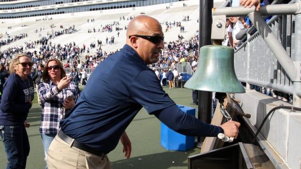 James Franklin victory bell