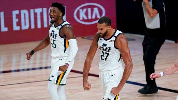 donovan-mitchell-rudy-gobert-nba-bubble