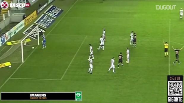 Vasco draw against Santos at Vila Belmiro