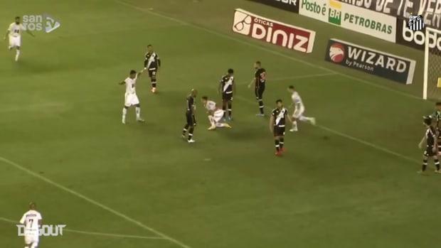 Santos draw 2-2 with Vasco at Vila Belmiro