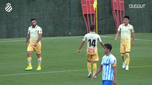 Wu Lei scores as Espanyol beat Málaga 3-0