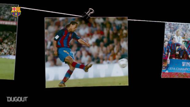 Ronaldinho relives his debut at Barcelona