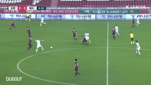 Pohang 3-2 Daegu: Cesinha double ends in defeat