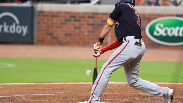 Trea Turner low ball hitter
