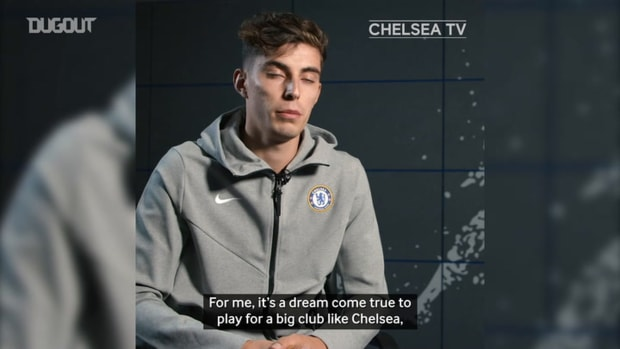 Kai Havertz: Lampard a huge reason why I joined Chelsea