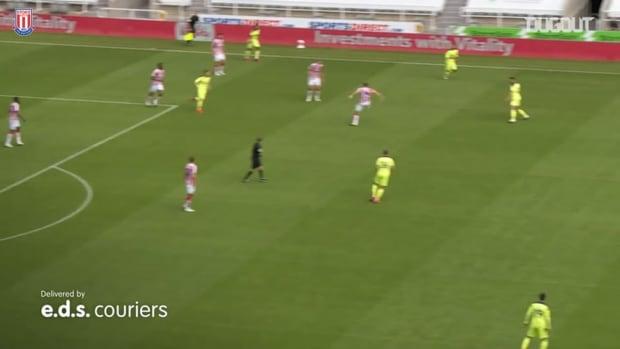 Sam Clucas heads home winner against Newcastle United