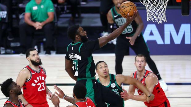 Boston Celtics' Jaylen Brown