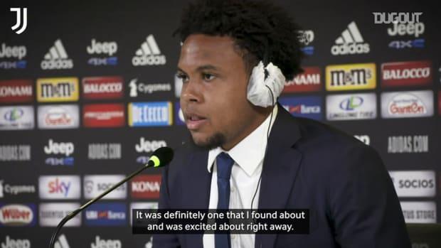 McKennie: 'I couldn't turn down Juventus switch'