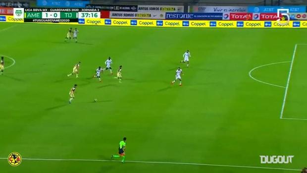 Club América's great goalscoring form in the 2020 Apertura