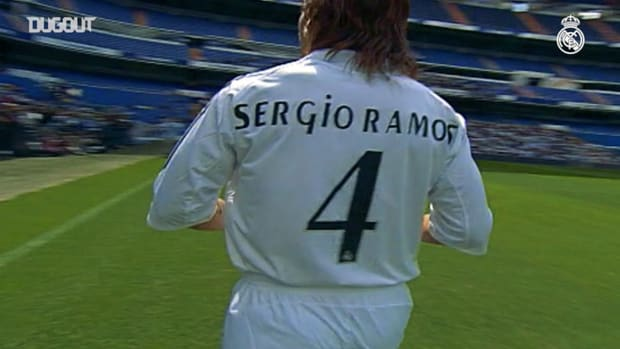 15 years since Sergio Ramos arrived at Real Madrid